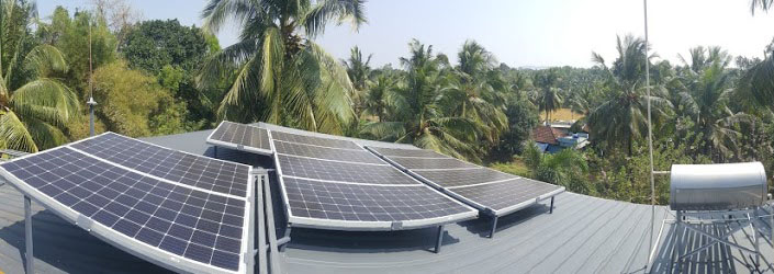SARMEP completes another Solar Grid-Tied Plant on Roof top